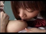 Beautiful student licked by her girl friend