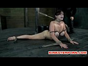 bdsm - suspension, bonded and wide spread legs,.