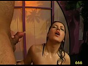 oral pleasure with pissing shower