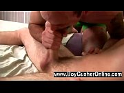 Gay movie Geo teased Mason&#039_s stiffy with his tongue and that made him