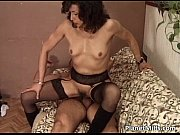 Old horny slut getting her hairy pussy