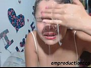 Picture Sloppy deepthroat blowjob by Latina