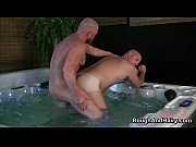 two gay guys have fun sucking hard cock.