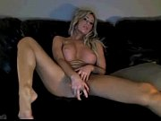 hot blonde toying on cam like the milf.