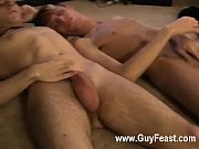 Hot gay scene Trace even hands off the camera to keep him company for