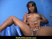 Ebony sucks that gloryhole dick so good 9