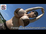 Penelope Black Diamond - Bikini   Leggins &amp_ golden High Heels Preview