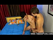 Amazing gay scene Blake Allen is the fresh boy around the studio and