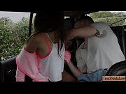 skinny teen zaya cassidy hitchhikes and banged by stranger