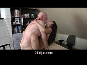 Cute asian school girl hairy pussy fuck with old teacher