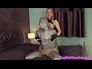 painful bondage fetish with flogging femdom
