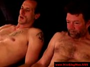 horny straight amateur bear jerking off