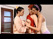 Sensual Threesome - by Sapphic Erotica lesbian sex with Kety Viky Allysia