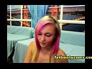Polish Blonde with Pink Highlights Wants Pussy Rammed - fatbootycams.com