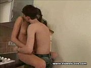 Teen Couple Hard Fucking in Kitchen