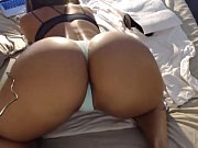 sexy black chick takes a hard dick on.