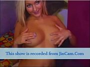 Blonde chick make me horny with her boob and her toys live chat