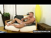 blonde teen jock jerks off his.