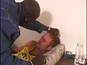 beefy black stud gets cock sucked and fucked.