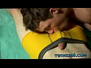 Young straight guy swallows cum gay porn Undie 4-Way - Hot Tub Action