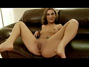 hot euro babe gets dildo in pussy and.