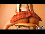Amazing Ass Teen in School Skirt! Big Boobs! Hot Model Body!