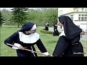 german nun get her first fuck from repairman.