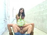 renae cruz cockriding in a public.