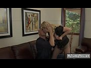 Busty blonde shemale Tyra Scott asshole pounded by nasty man