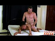 Sexy asian twink Benjamin fucked by daddys hard dick
