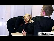 big tits sluty office worker girl perform hard.