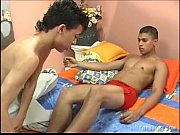 young latinos patricio and esteban enjoy.
