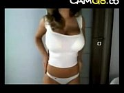 Busty Tanned Girl on Cam - camg8