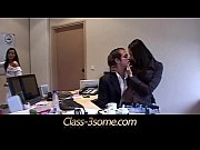 maid and office assistant threesome with.