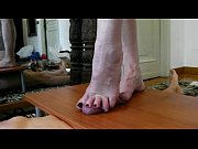 Cum on cock table. Foot fetish-finale su cock table.