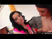 Stunning lesbian sisters fingering and more