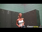 big tit blonde slut fucked in the locker.