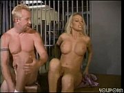 hot blonde fucks a prisoner in.