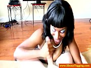 This ebony and young amateur teen is admirable