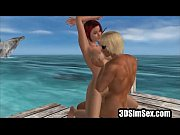 animated guy fuicking two hot girls