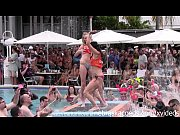 wild pool party at fantasy fest 2014 key west, 1 time sexbloodeena sax videos com Video Screenshot Preview