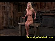 Allie locked and fucked in a farm 2 of 2