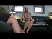 blonde lesbian in shrink talk about.