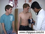 Two twinks and sexy doctor