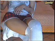 having a good time on a webcam show.