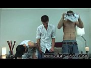 Gay teen boy high school first time Ashton rocked back and forth on