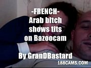 Arab bitch shows boobs on cam  by GranDBastard - www.188Cams.com