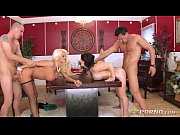 two married couples enjoying foursome with.