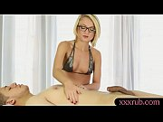 perky tits blonde masseuse blowjobs clients.
