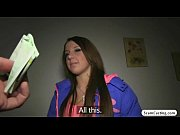 Picture Brunette hottie Anita gains cash and gets fu...